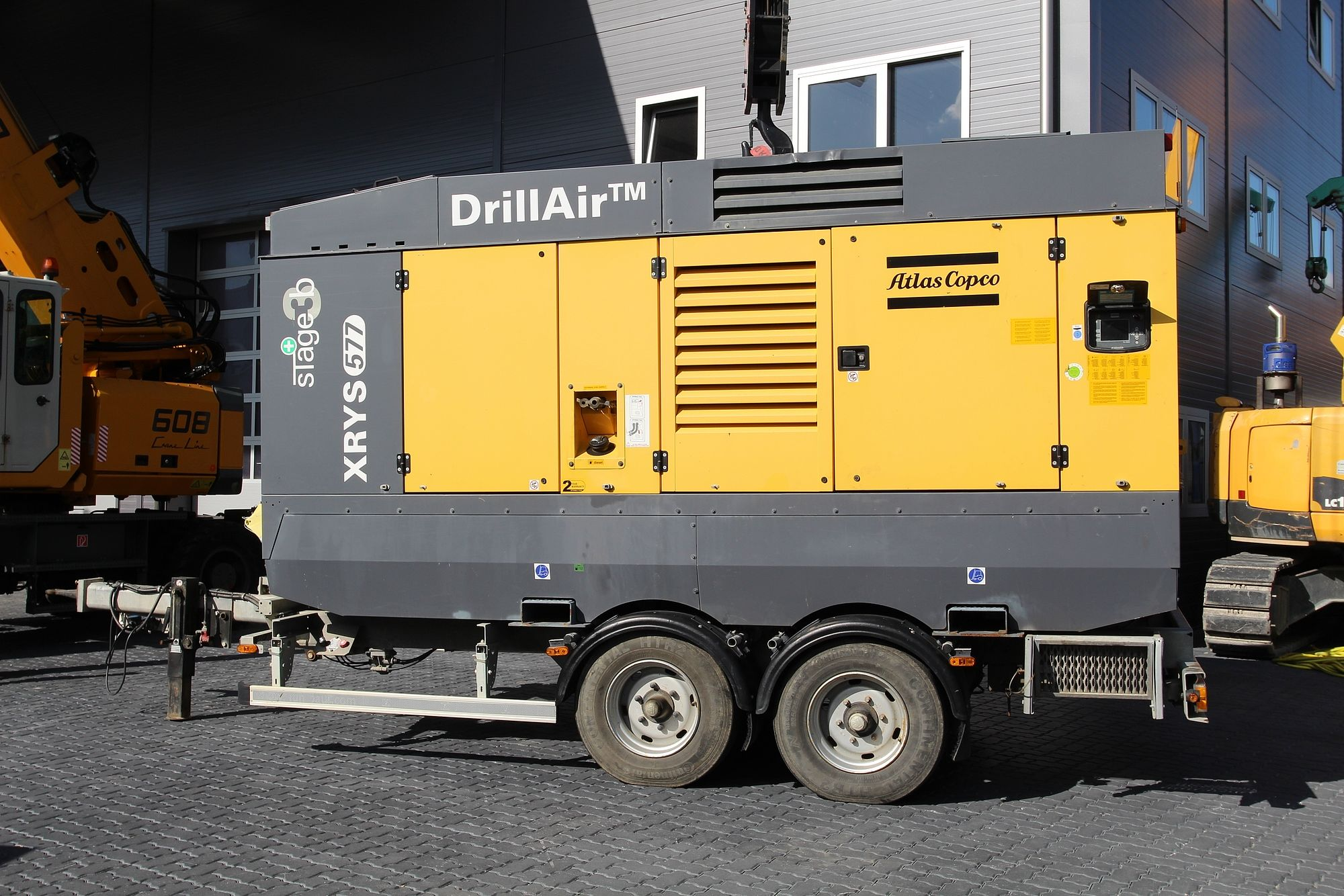 Atlas Copco Drill Air XRYS 577 CD